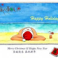 圣诞及新年快乐